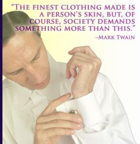 clothes makes a person